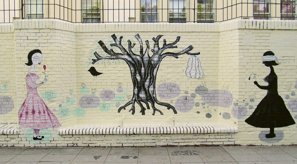 WALLPAINTING DIANA´S TREE