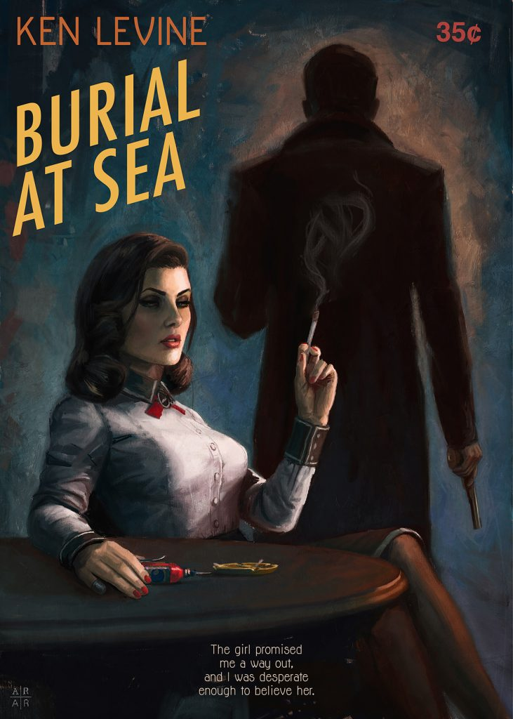 BURIAL AT SEA – PAPERBACK