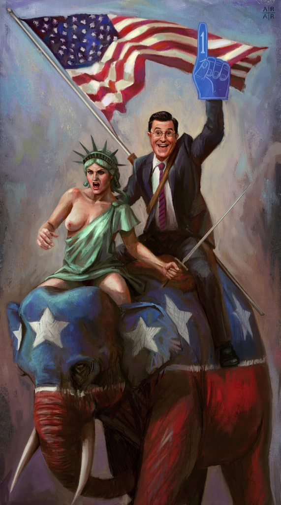 COLBERT: AMERICAN WARRIOR