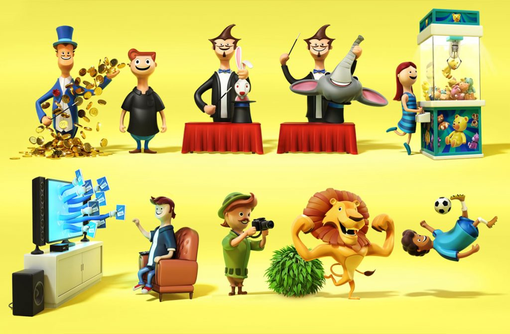 CHARACTERS FOR NET TELECOM