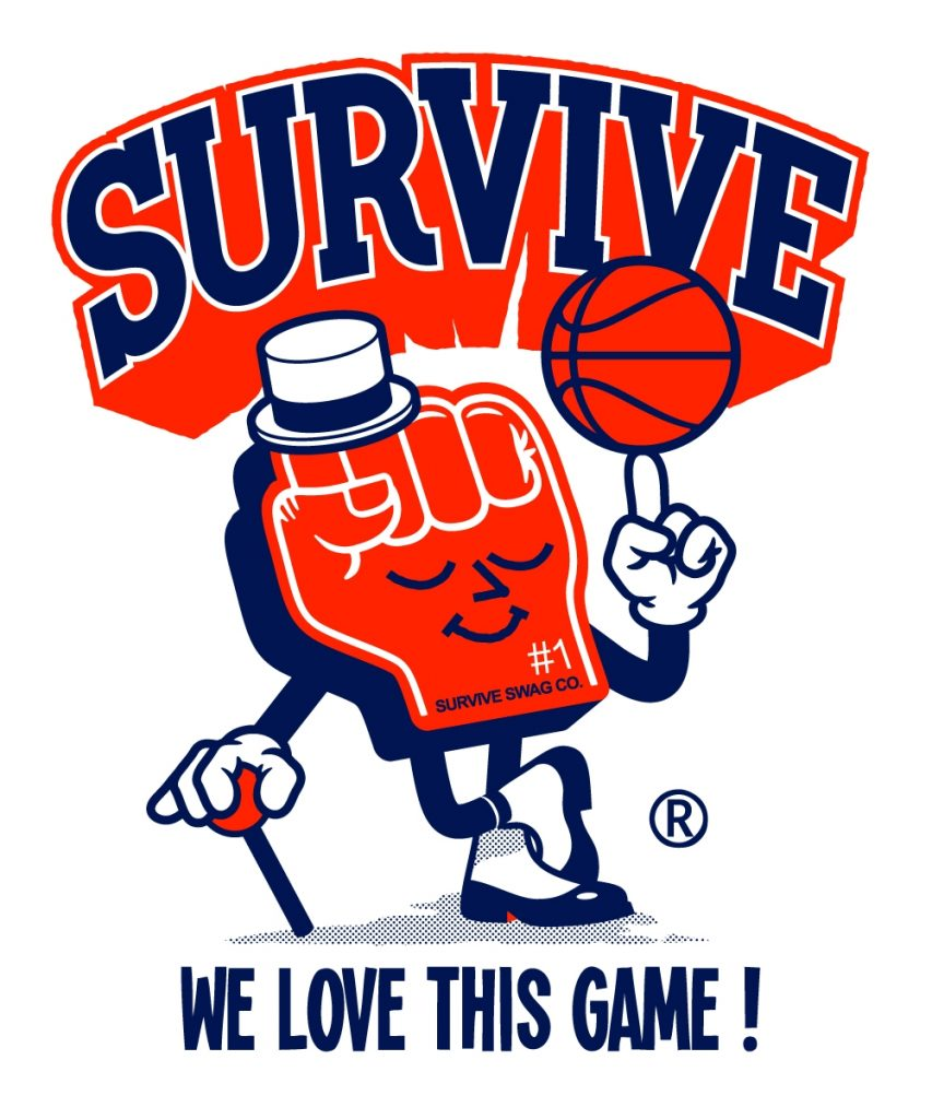 SURVIVE TEE-SHIRTS GRAPHICS