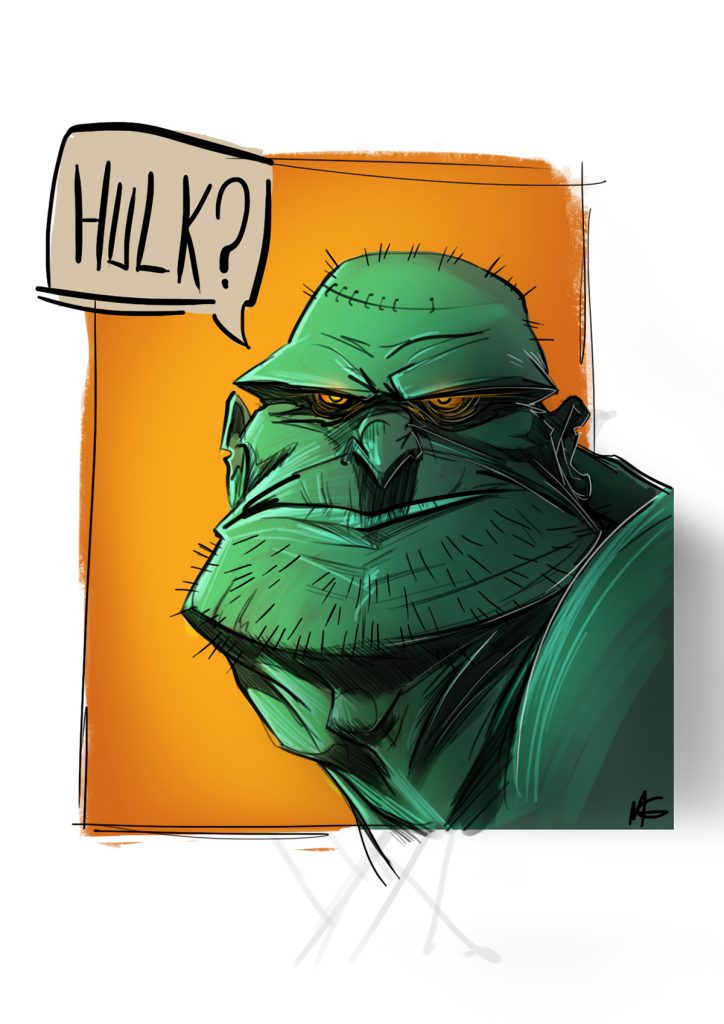 WHO IS HULK?