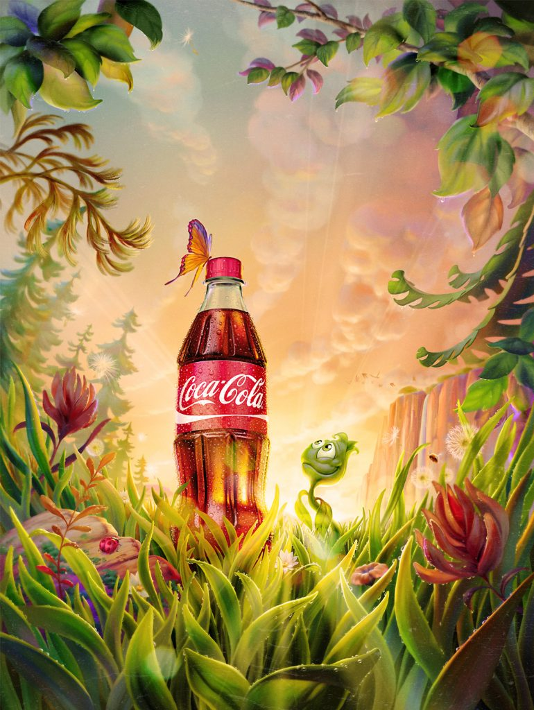 COCA–COLA PLANT BOTTLE