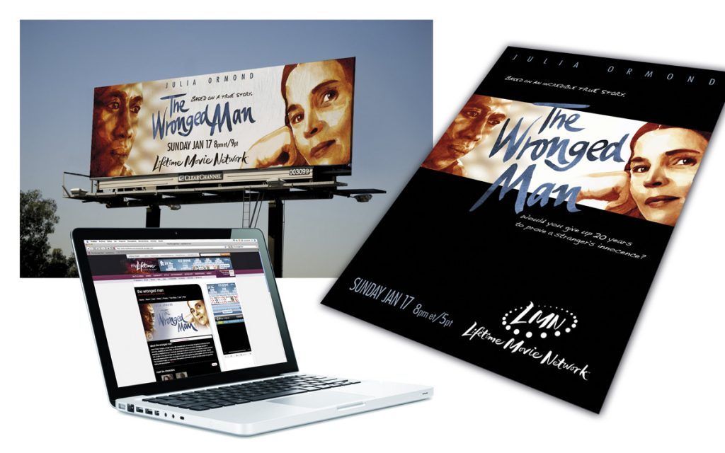 """THE WRONGED MAN"" PREMIERE CAMPAIGN"