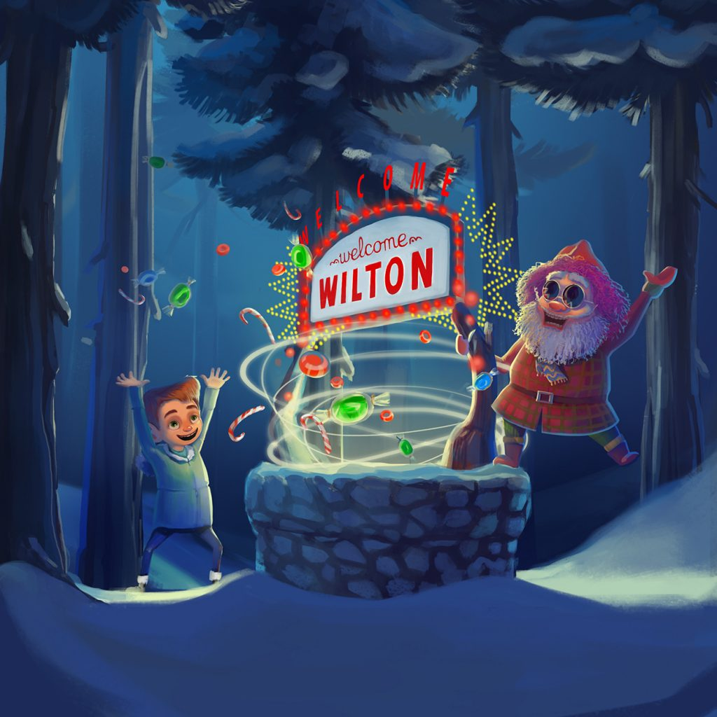 WILTON WILLBERRY AND THE MAGICAL CHRISTMAS WISHING WELL