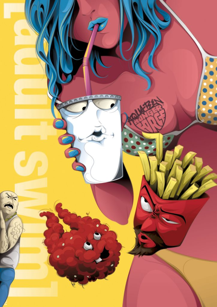 ADULT SWIM POSTER SET