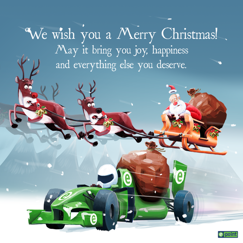 E-POINT CHRISTMAS CARD