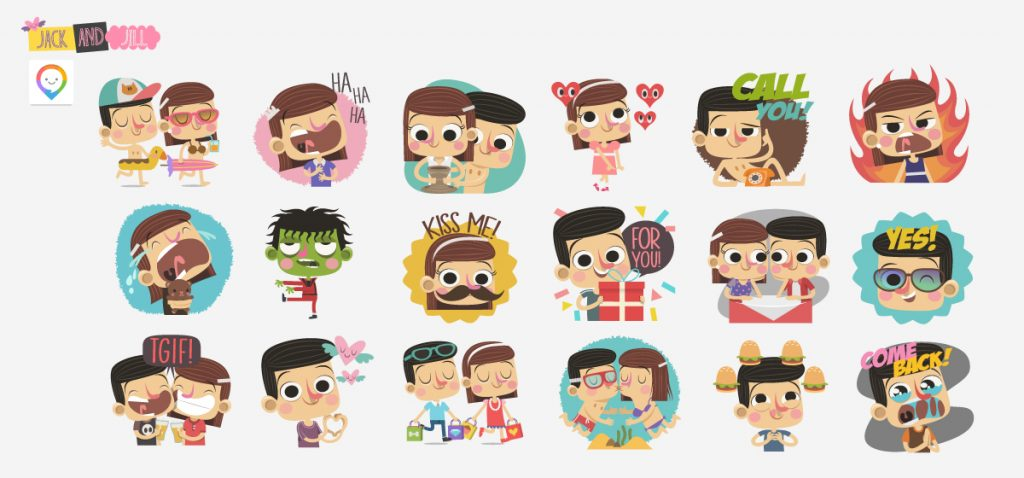 LINK STICKERS