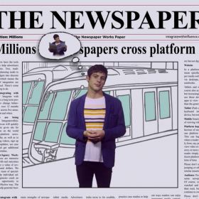 THE NEWSPAPER WORKS