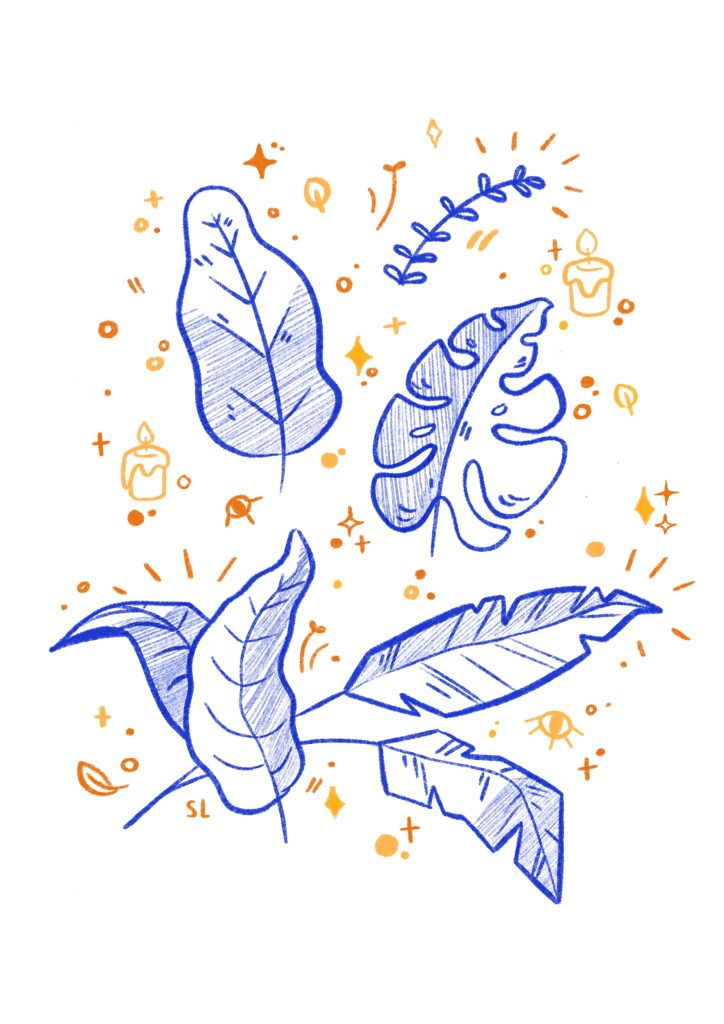 Leaves and spells
